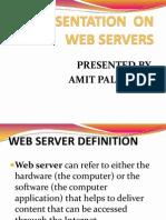 Presentation on Web Server Final