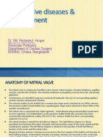 Mitral Valve Diseases & Management