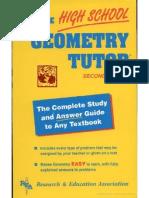 The High School Geometry Tutor