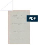 Creed and Character