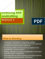 Directing and Controlling(2)