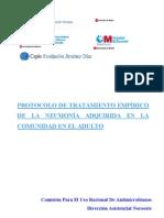 Protocolo Neumonias Marzo 2012