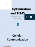 TEMs - MapInfo - Cellular Optimization