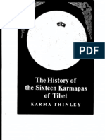 The History of the Sixteen Karmapas of Tibet--Karma Thinley