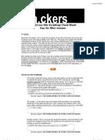 XSS (Cross Site Scripting) Cheat Sheet