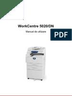 Xerox5020DN RO Low