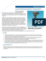 Ionization Current Sensing Ignition Susbystem