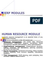 Chapter 5 Erp Modules-hr