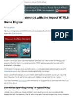 How to Build Asteroids With the Impact HTML5 Game Engine