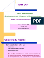 La Communication InterpersonnellePPT