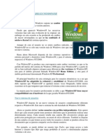 CURSO DE INTRODUCCIÓN A WINDOWS XP
