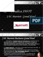 Analiza SWOT - Marriott
