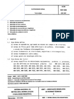 NBR-5456 -1987 - Eletricidade Geral