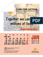 Road Safety Calendar 2012