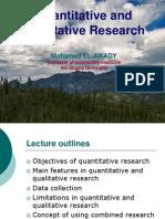 Quantitative Research Read