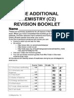AQA C2 Revision Booklet