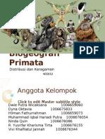 Biogeografi Primata