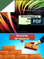 Measurement in HRM Alignment & Hiring