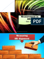 Measurement in HRM Alignment & Hiring