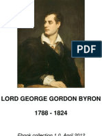 Lord Byron Sample Poems