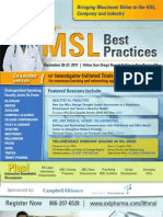 9th Medical Science Liaison Best Practices