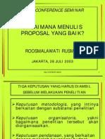 Presentation Roosmalawati