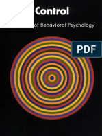 Control a History of Behavioral Psychology 2007