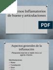 Trastornos inflamatorios de hueso y articulaciones Lic. Fisioterapia y rehabilitación Ricardo estrella delgado