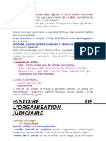 Institutions Judiciaire Cours Entier