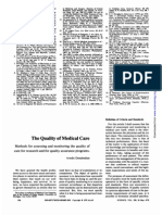 The Quality of Medical Care_1978