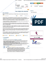 Declaraciones del Consejero de Universidades de la CARM en La Opinión