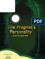 The Prophet's Personality