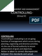Controlling Presentation