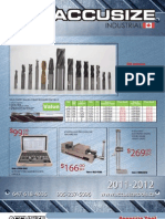 AccusizeTools Catalog 2011 2012