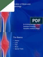 Examination of Bone and Joint Pathology