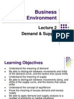 BE Lecture 2 Demand & Supply