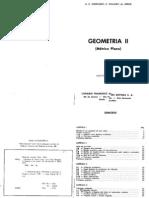 Augusto Cesar Morgado - Geometria II