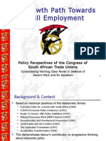 Cosatu Growth Path and Economic Transformation - Chris Malikane