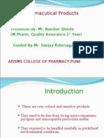 Sterile Pharma Products