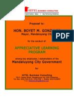 Appreciative Learning Program Proposal