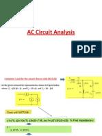 AC Analysis by MATLAB
