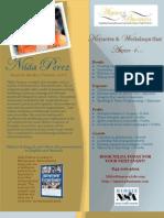 Nilda Perez Speaker Sheet