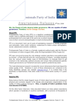 Professionals Party of India