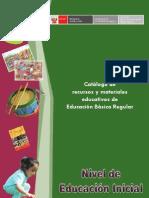 MATERIALES EDUCATIVOS DE EDUCACION INICIAL