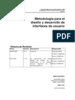 MetodologÃ_a para el diseÃ_o y desarrollo de interfaces de usuario