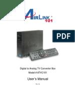 Air Link 101 Digital Converter Manual