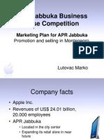 APR Jabbuka Business Case Competition