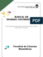 2010 Manual Ingresante Medicina
