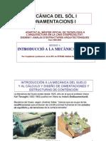 Sessió 1 - Intro Mec. del Suelo