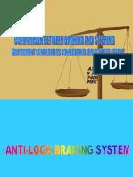 Anti Lock Braking System Seminar